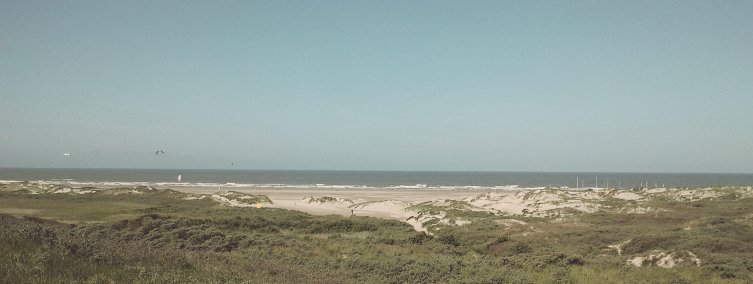 Strand und Ruhe