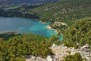 Lac de Sainte-Croix und der Eingang zur Schlucht