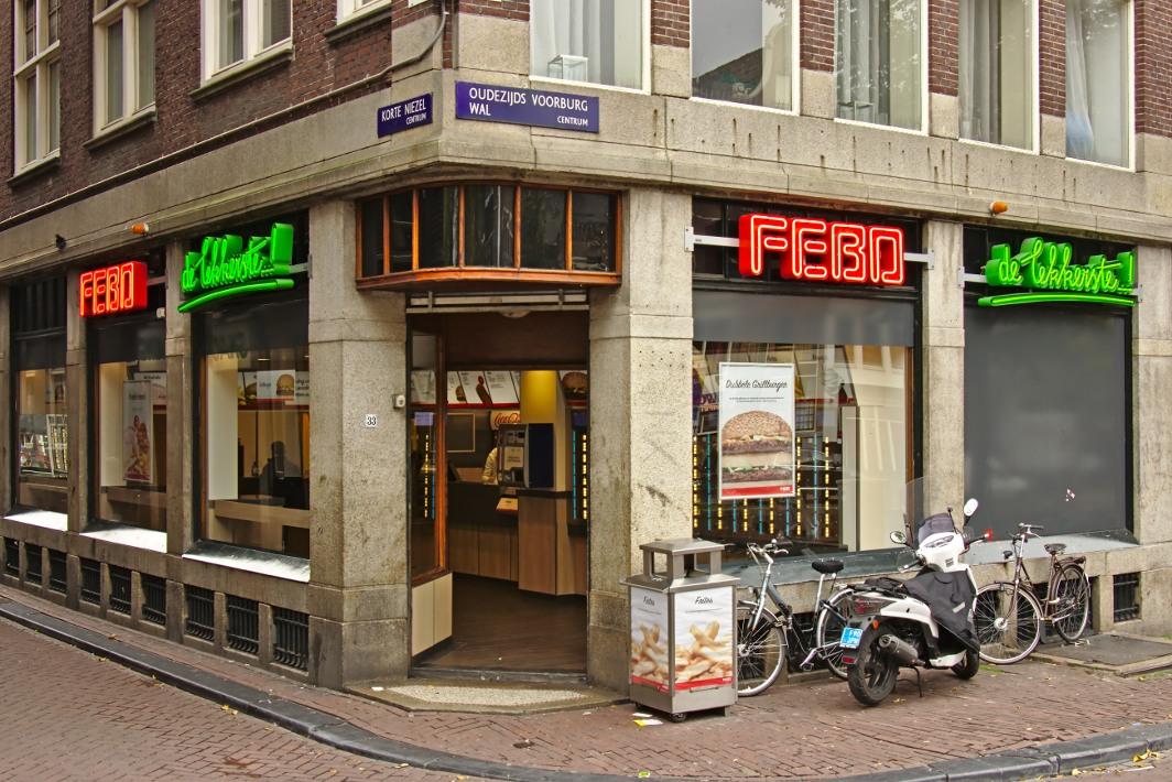 Febo-restaurant Amsterdam