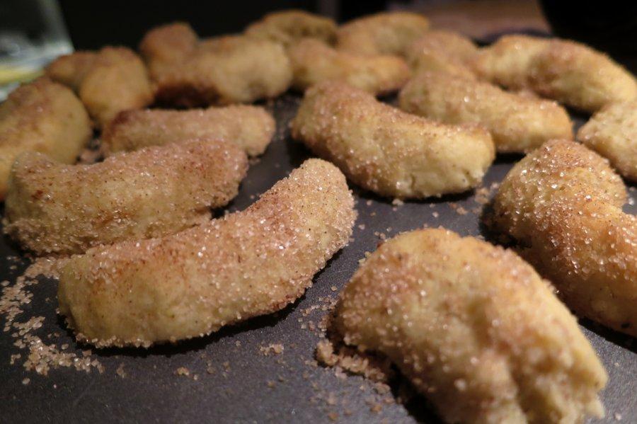 Kekse Zimtkipferl