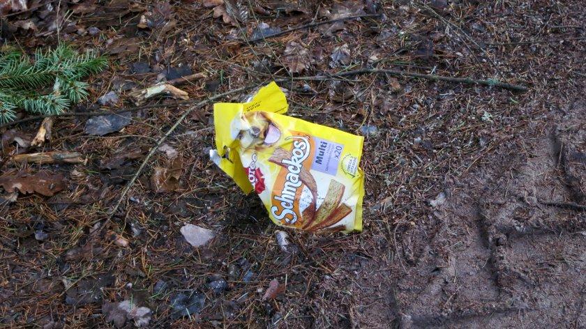 Müll Hund