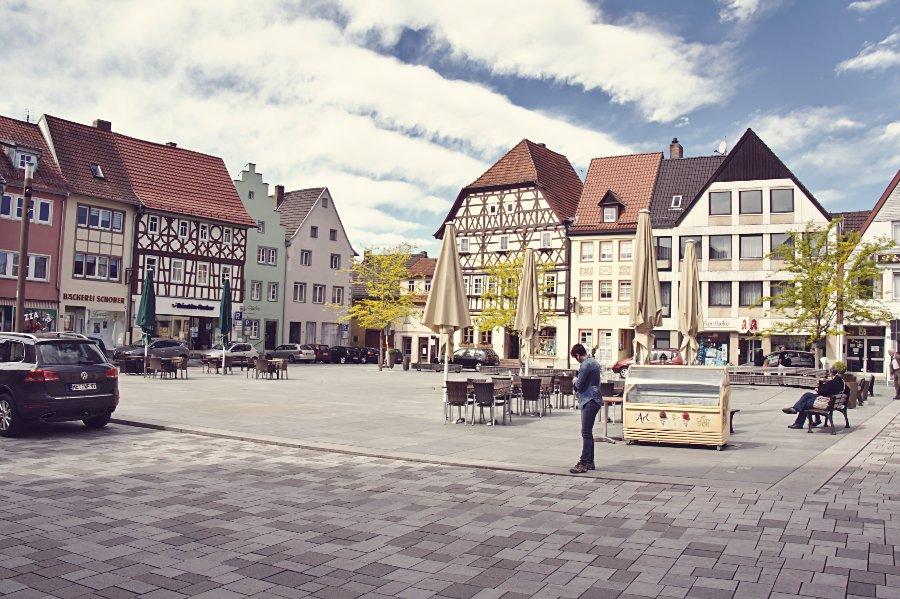 Ortsmitte Mellrichstadt