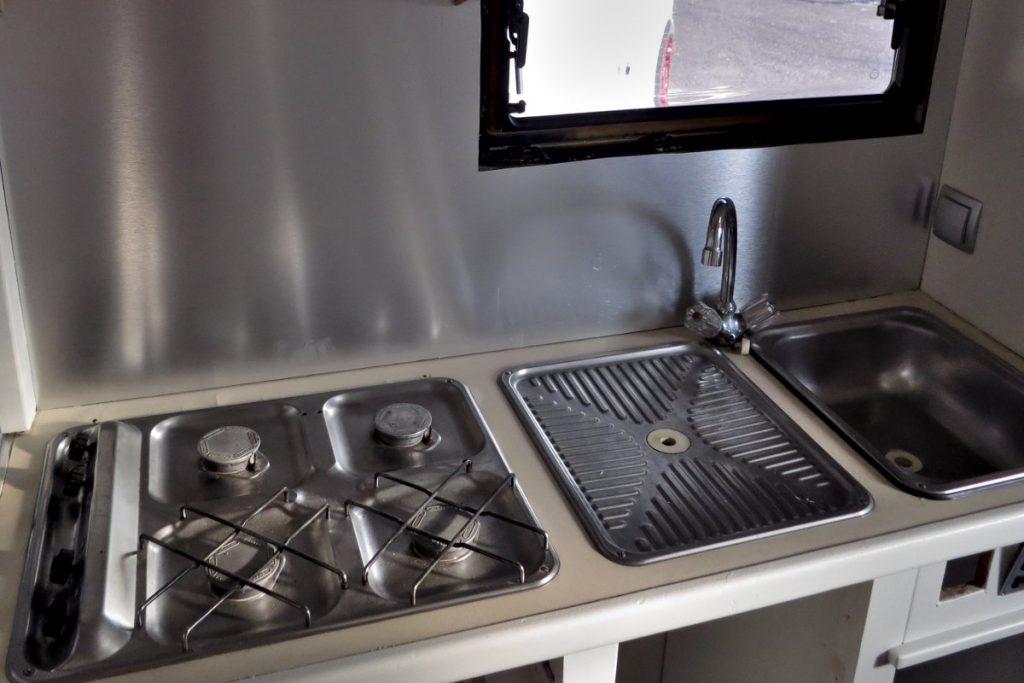Restauration Küche