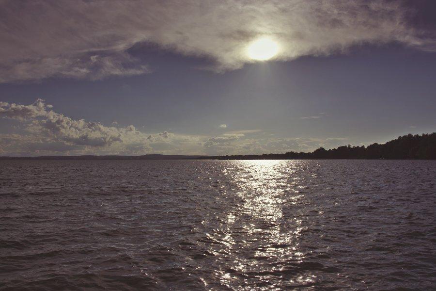 Steinhuder Meer Sonnenuntergang