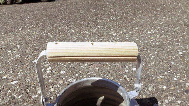 Wasserkessel jetzt mit Holzgriff