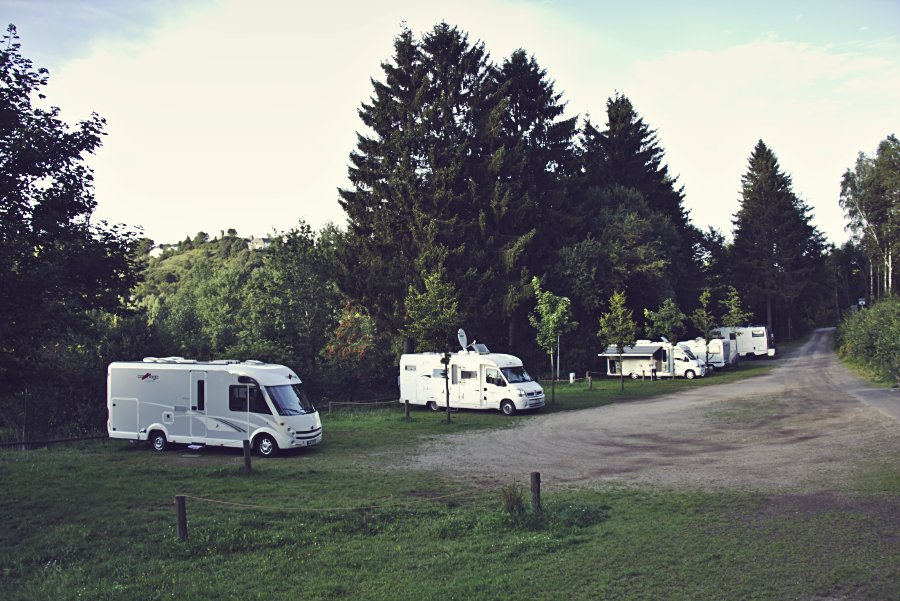 Wohnmobilstellplatz Kronenburg