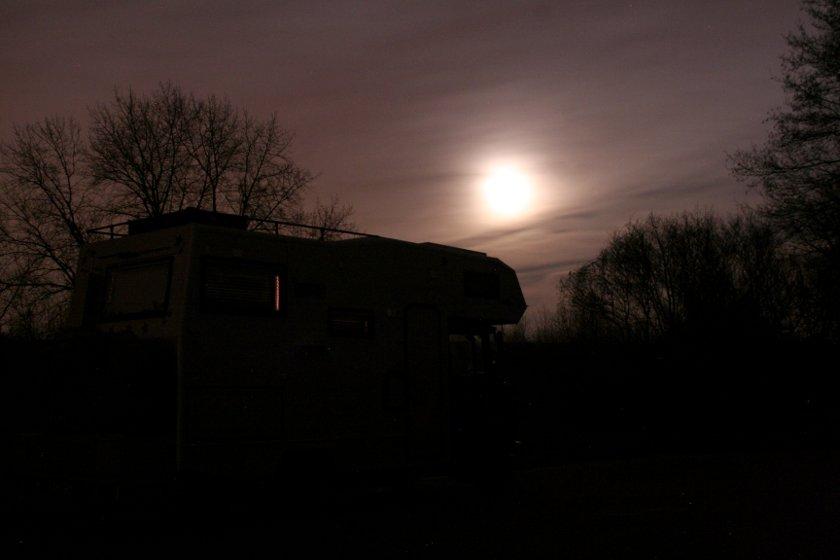 14qm im Mondlicht