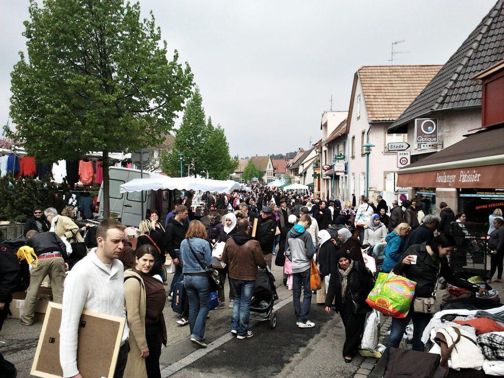 Flohmarkt in Oberhausbergen