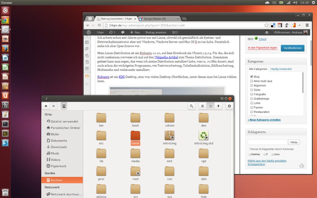 Linux Unity 13.10 Desktop