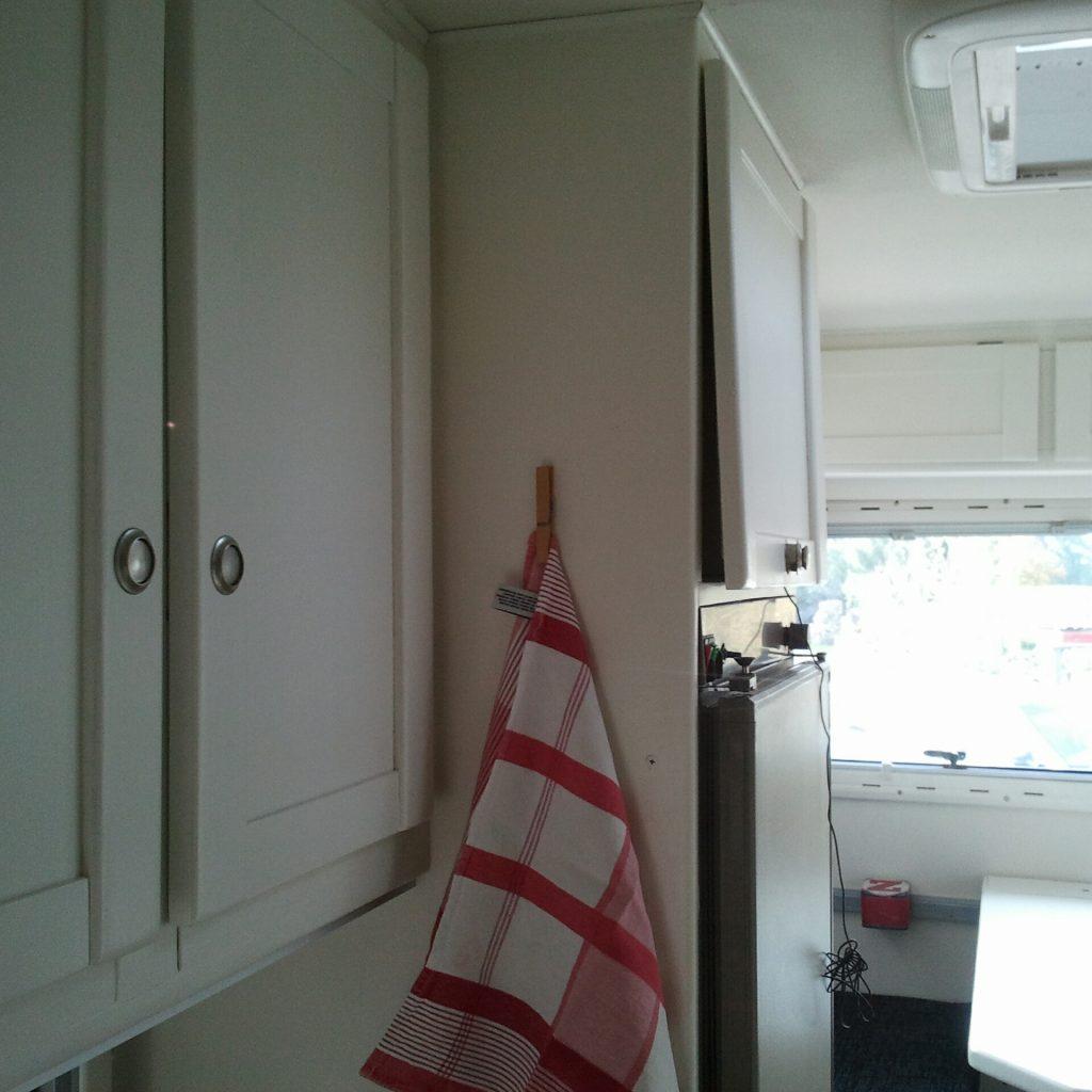 Wäscheklammer als Handtuchhalter