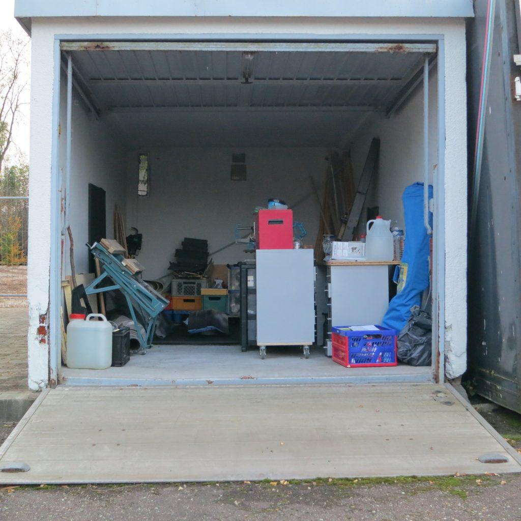 Und alles ab in die Garage