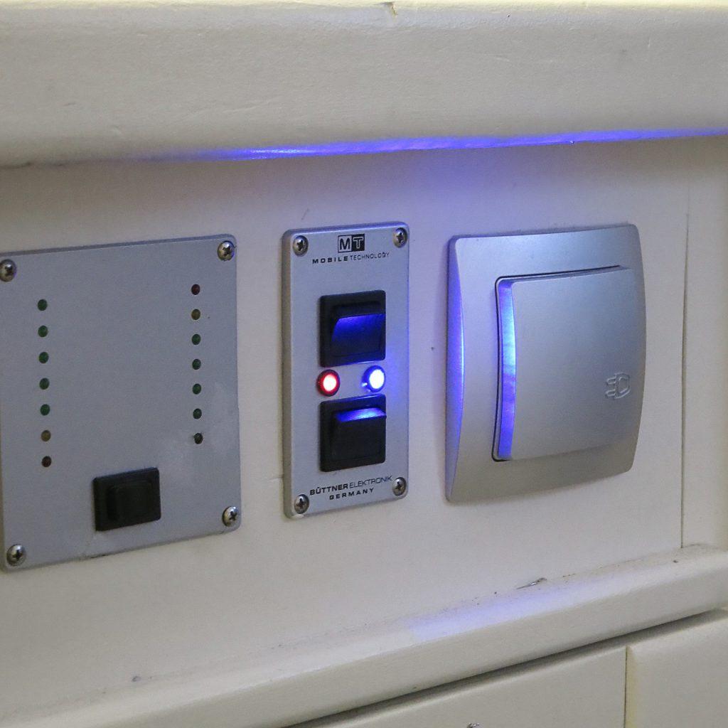 Blaue LED für kaltes Wasser