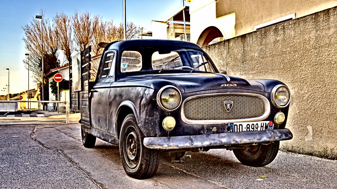 Peugeot 403 in Solignac