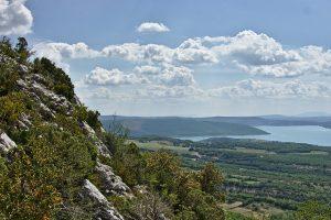Blick über den Lac de Sainte-Croix
