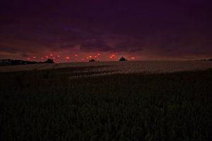 20.08.2016 - Windparks in der Nacht