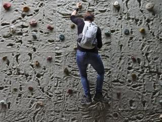 19 - Bouldern an der gefährlichen 3 m Wand