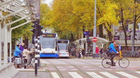 Reisevorbereitungen für Städtetrips - Amsterdam mit ÖPNV