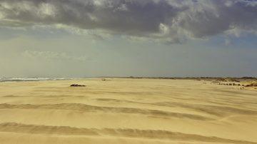 01 Sandsturm am de Plage Piémanson