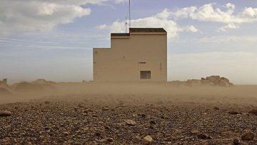 02 Sandsturm am Plage de Piémanson