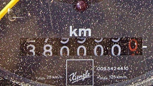 10a 380000 Kilometer und etwas Sand