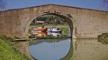 Kanalbrücke bei Argeliers