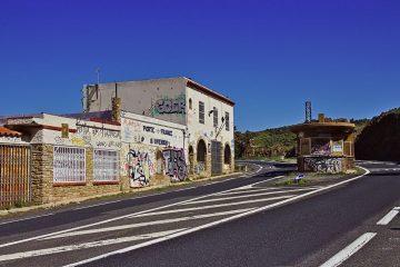 03a Französisch-spanische Grenze bei Cerbère