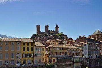 13c Blick auf Foix