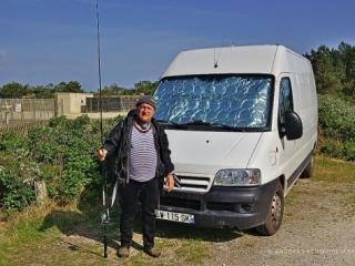 Michel, ein Freund in Frankreich und Fischlieferant