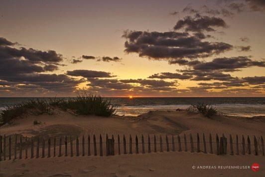 03d Sonnenuntergang in Soulac-sur-Mer