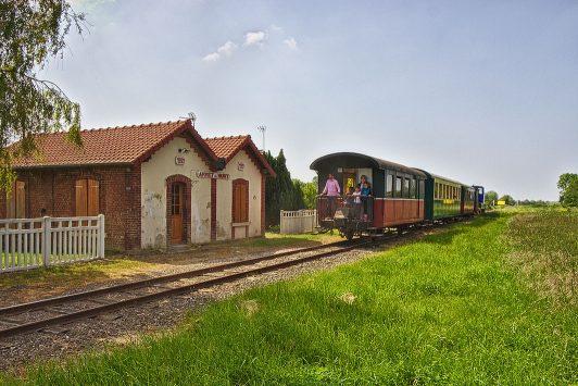 Historischer Zug Sommebucht