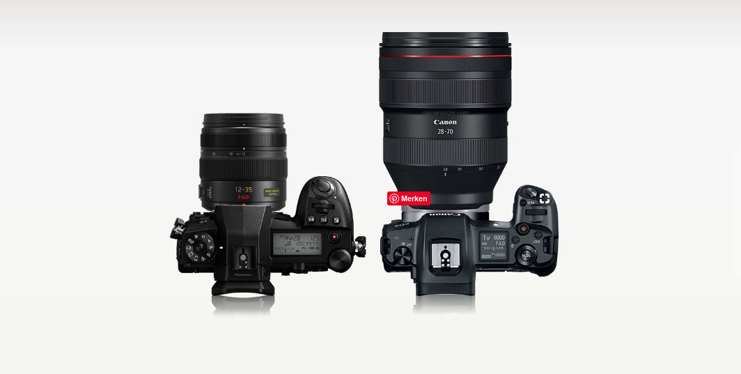 Panasonic G9 vs Canon R