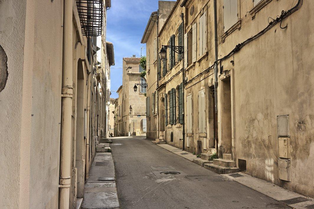 In den Gassen von Arles