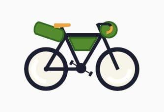 Perfekte Ausrüstung Fahrradtouren