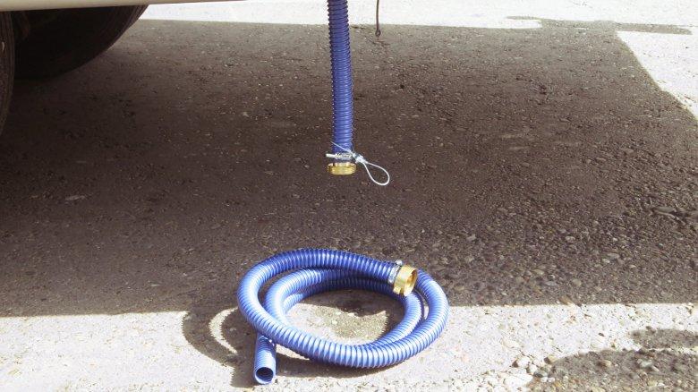 Abwassertankentleerung verbessert