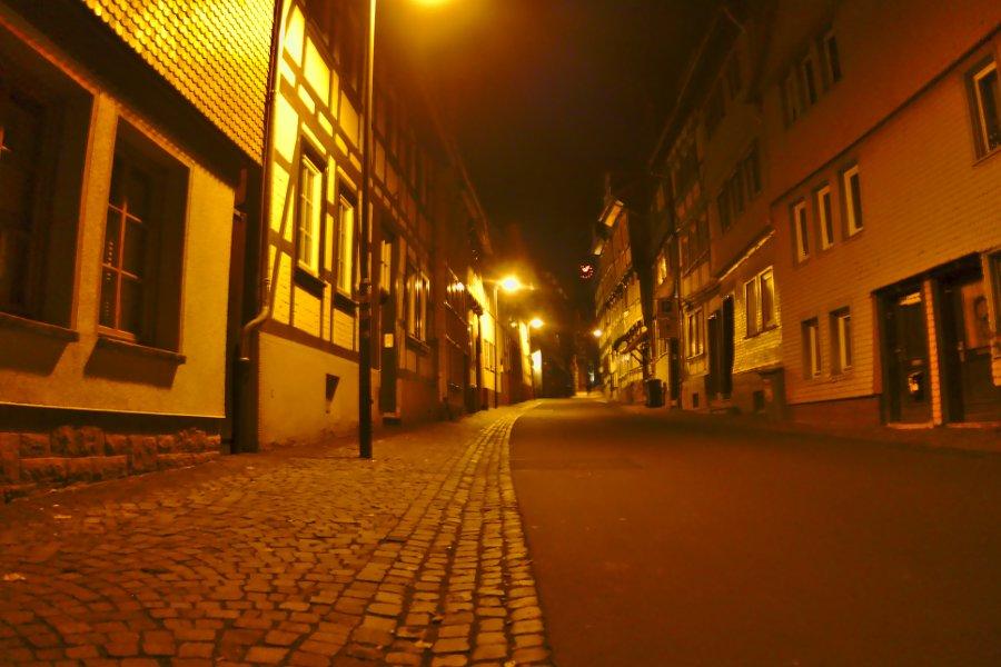 Alsfeld bei Nacht