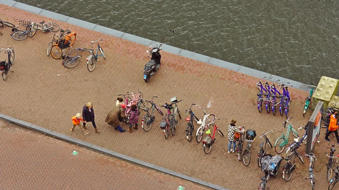 Amsterdam mit Fahrrad