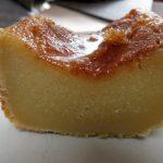 Apfelmus-Kuchen kalt