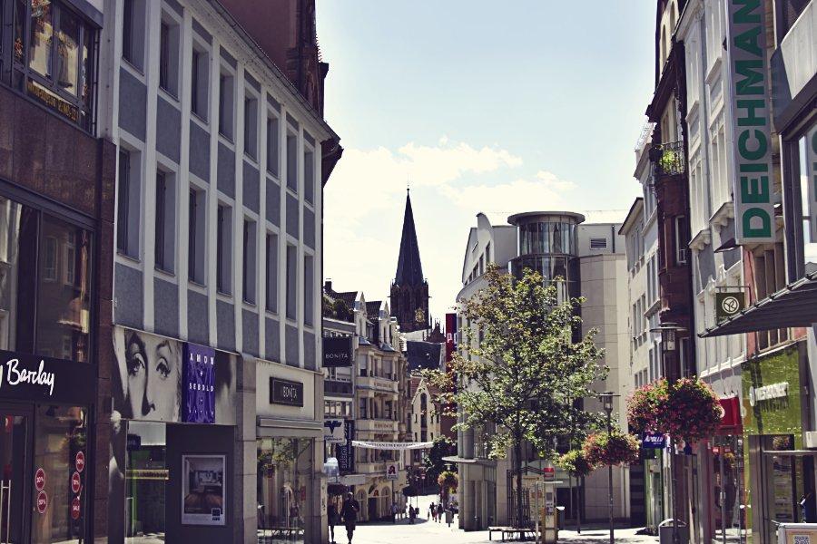 Aschaffenburg Fußgängerzone