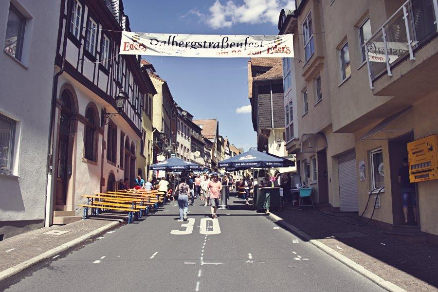 Aschaffenburg Dahlbergstraßenfest