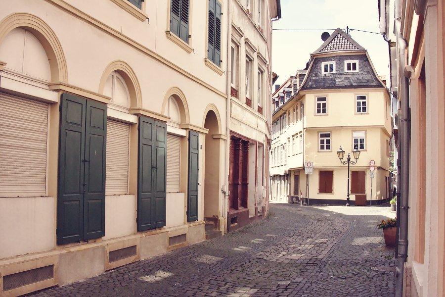 Bad Kreuznacher Neustadt Gasse