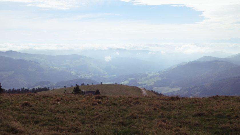 Blick Richtung Schweiz