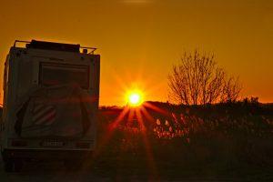 05 Sonnenuntergang in der Camargue