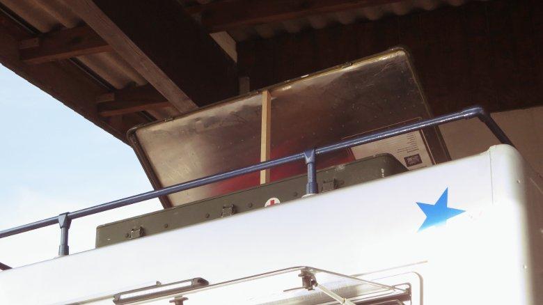 Dachbox jetzt aufklappbar