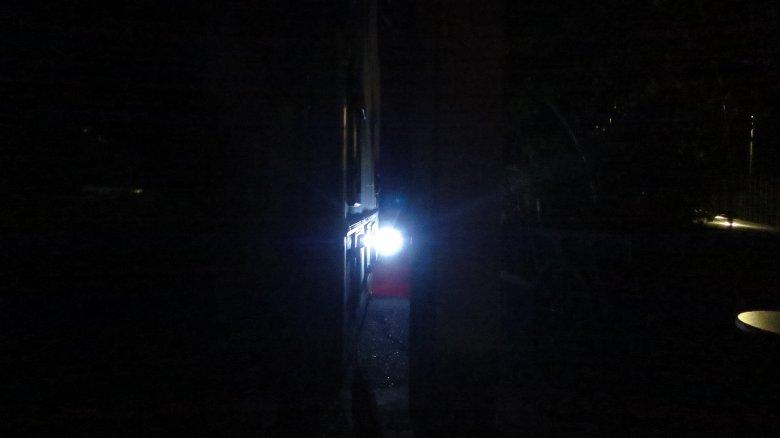 Flutlicht vorne