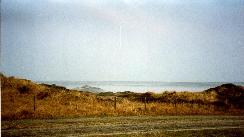 1992 Freisstehen in den Dünen