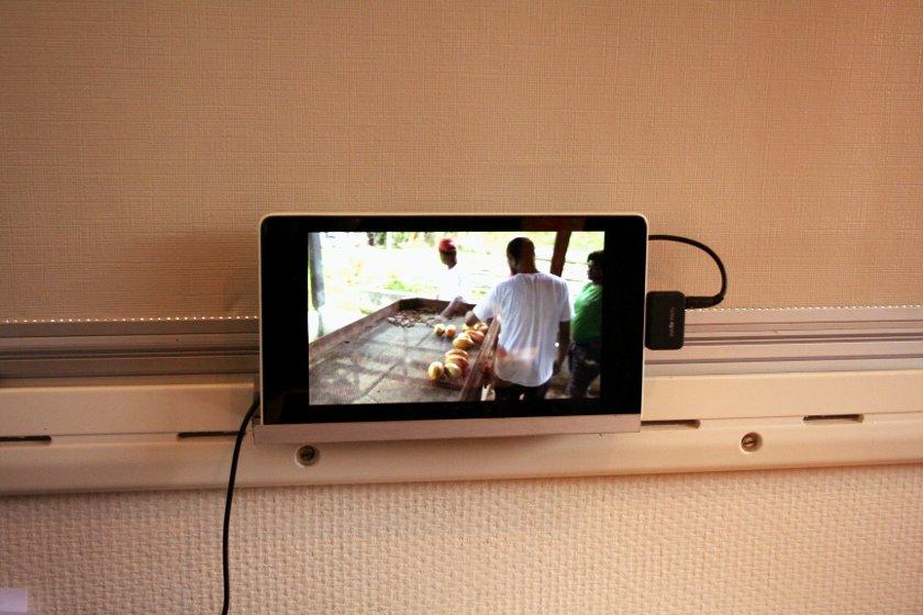 Halterung für Tablet-TV