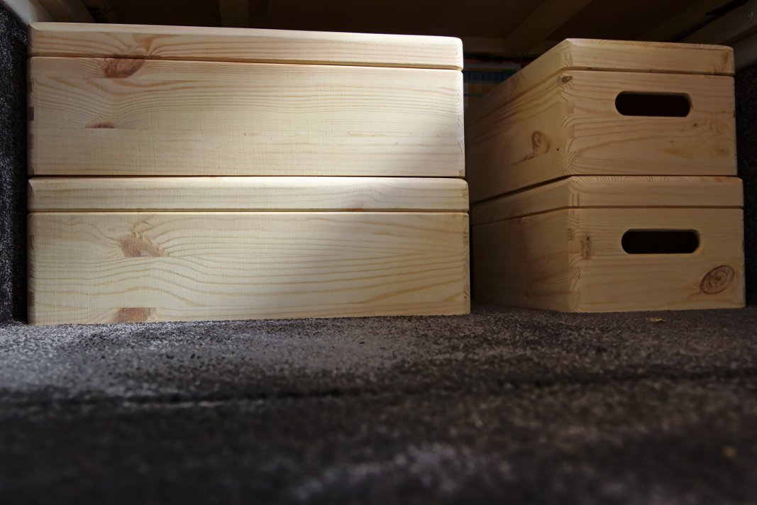 Holzkisten