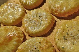 Herzhafte Käsekekse aus dem Omnia