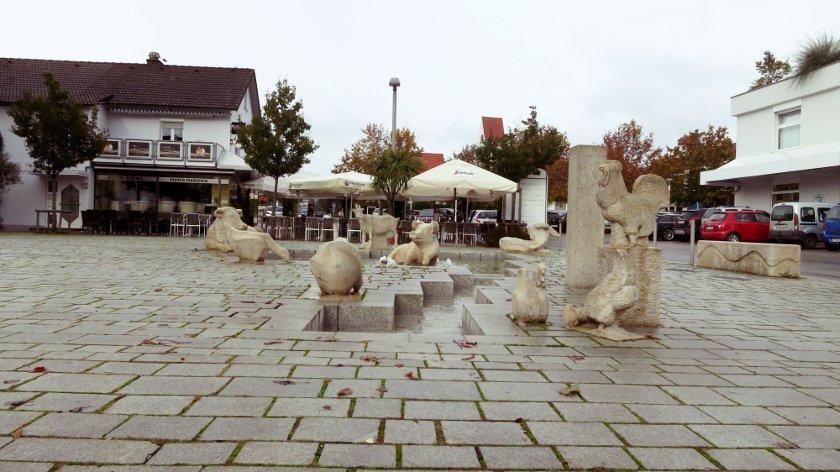 Landtierbrunnen
