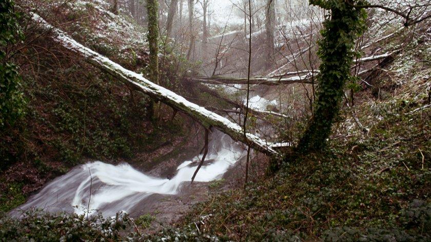 Laufbach Wasserfälle unten
